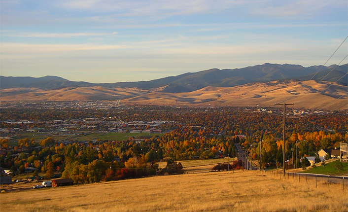 The North Hills of Missoula. Photo by Pelah Hoyt.