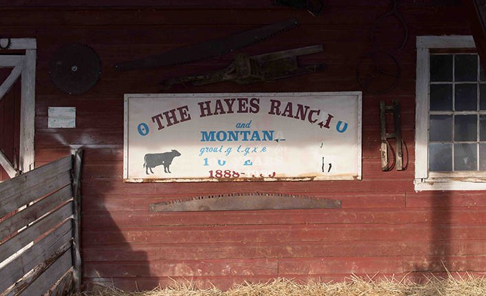 The Hayes Family has farmed and ranched in Potomac since 1888. Photo by Cathrine Walters.
