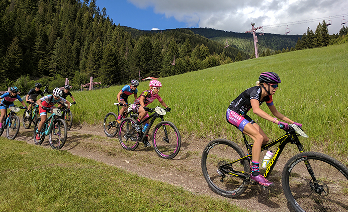 MTB Missoula's Missoula XC Race at Marshall Mountain. Photo by Five Valleys staff.