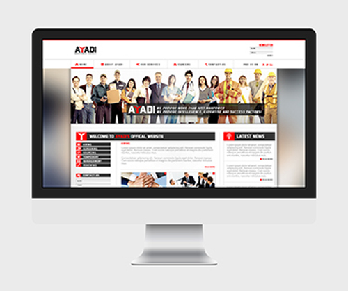 ABu Dhabi website design