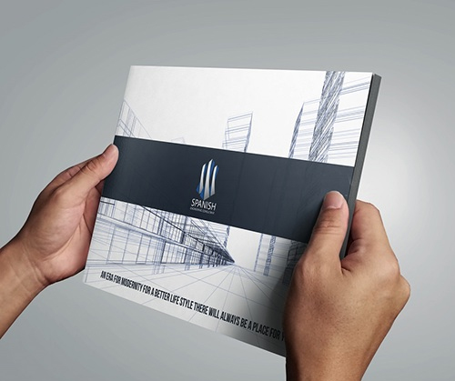 Abu Dhabi Brochure design