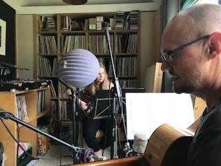 Recording audio at Gold Tone Brighton