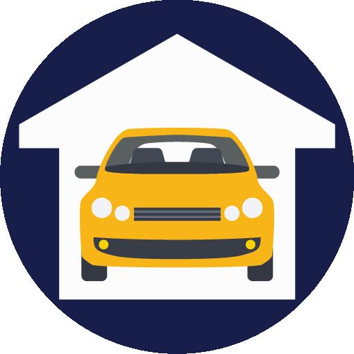 mechanic shop icon