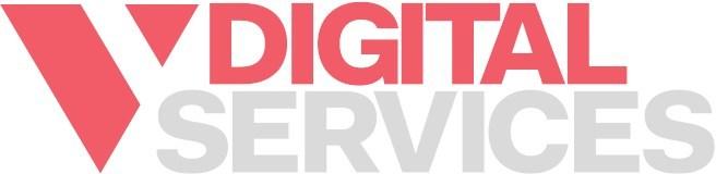 V Digital logo