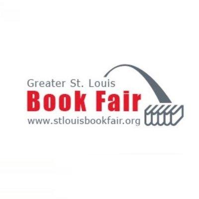 Greater St. Louis Book Fair logo