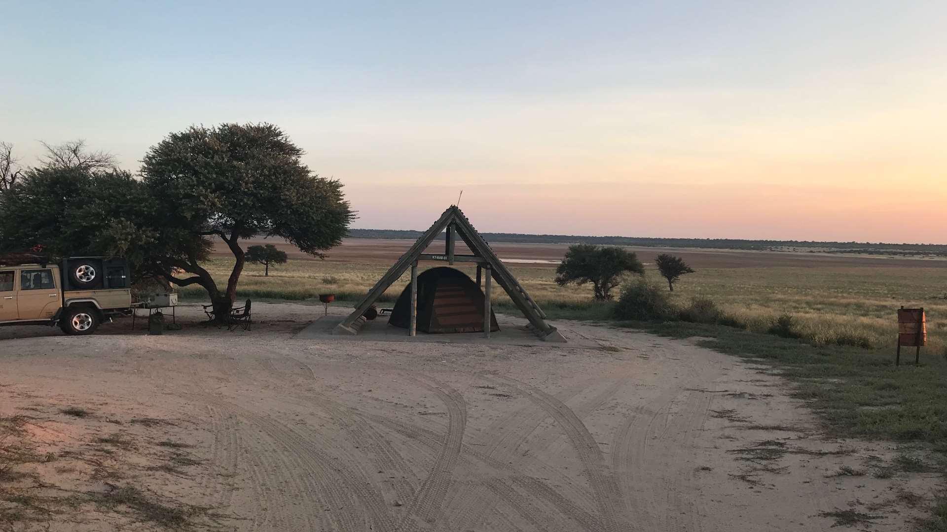 Theorie Stunde im Kwapa Camp