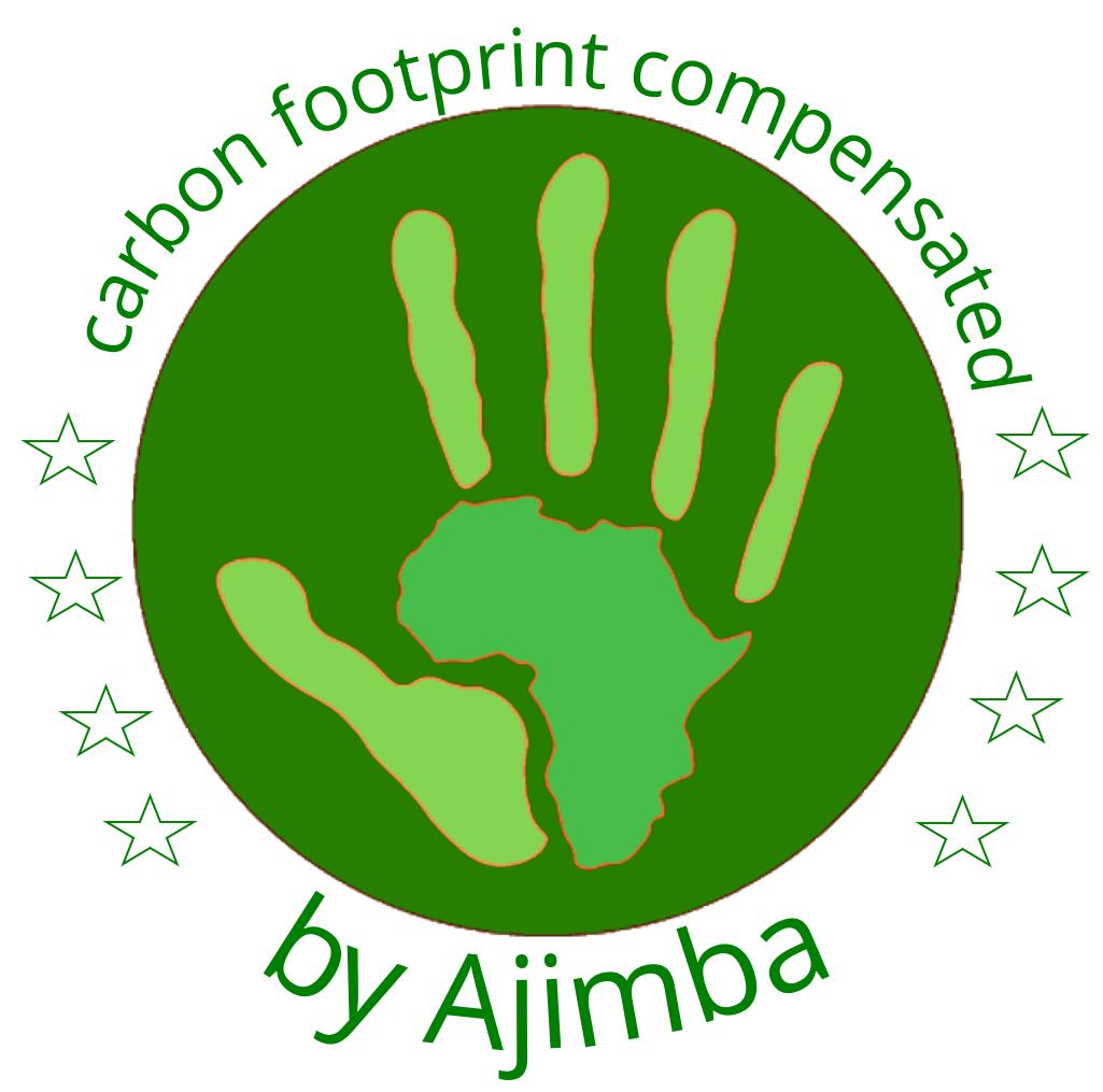 CO2 Fussabdruck kompensiert durch Ajimba
