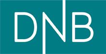 Vår kunde DNB sin logo.