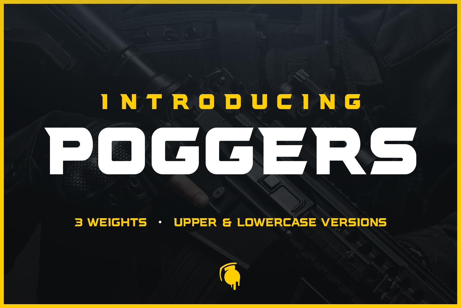 Poggers Font