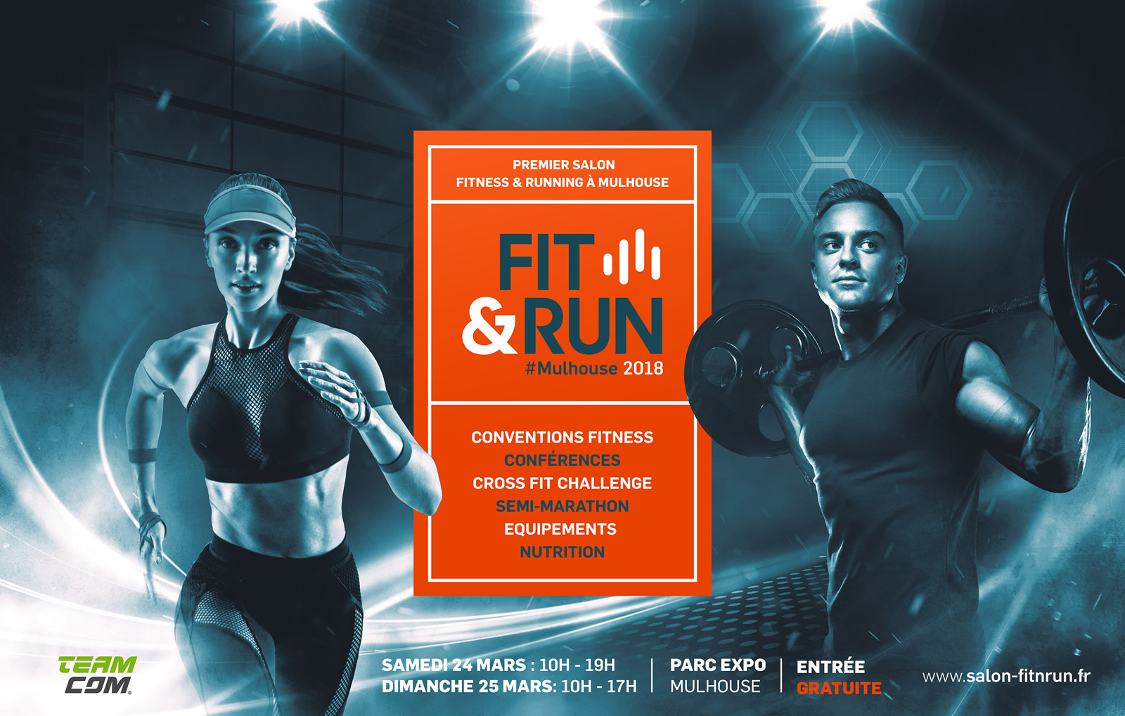 Salon Fit&Run - Parc expo - MULHOUSE 24 & 25 mars 2018