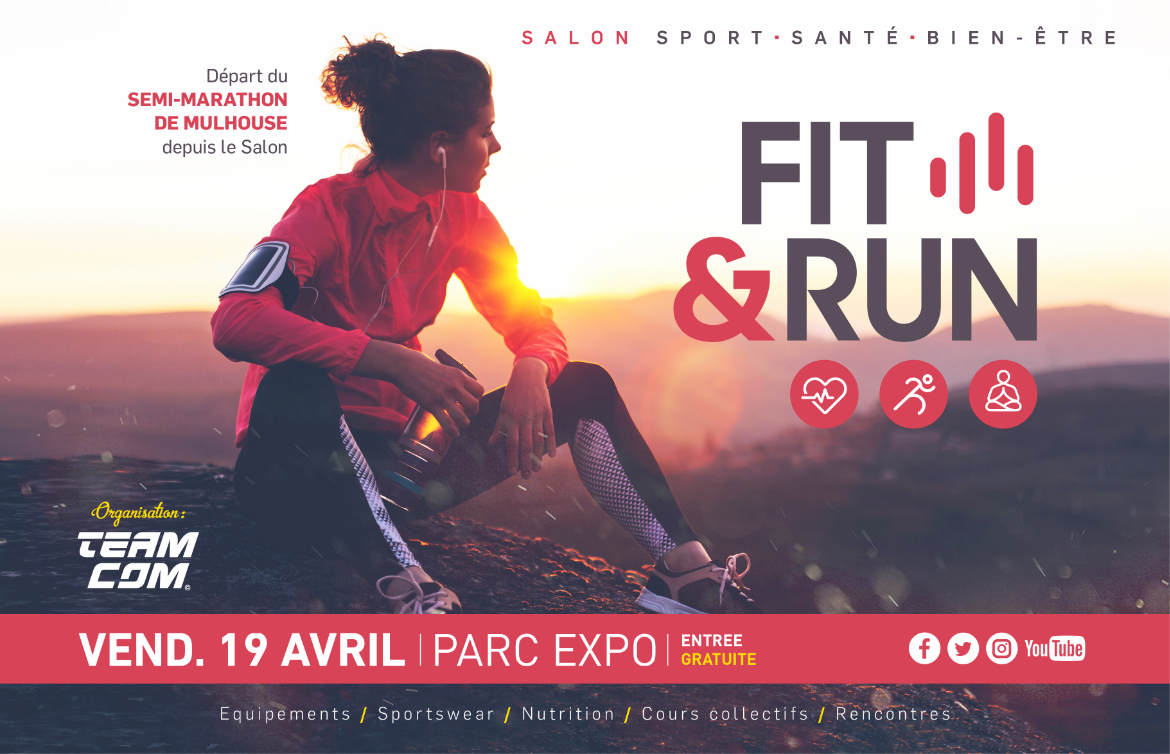 Salon Fit&Run - Parc expo - MULHOUSE 19 avril 2019