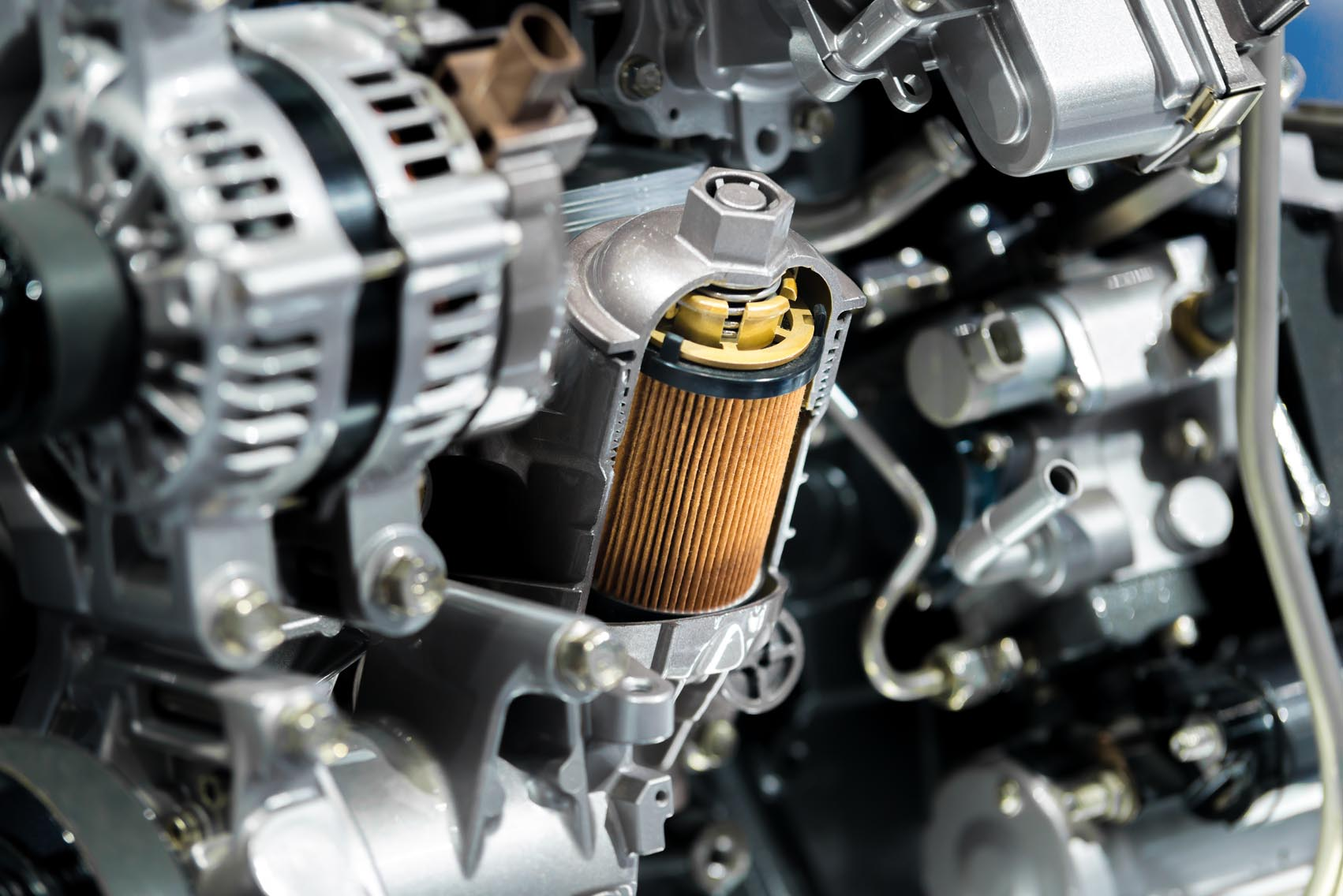 When should I replace my car's fuel filter?