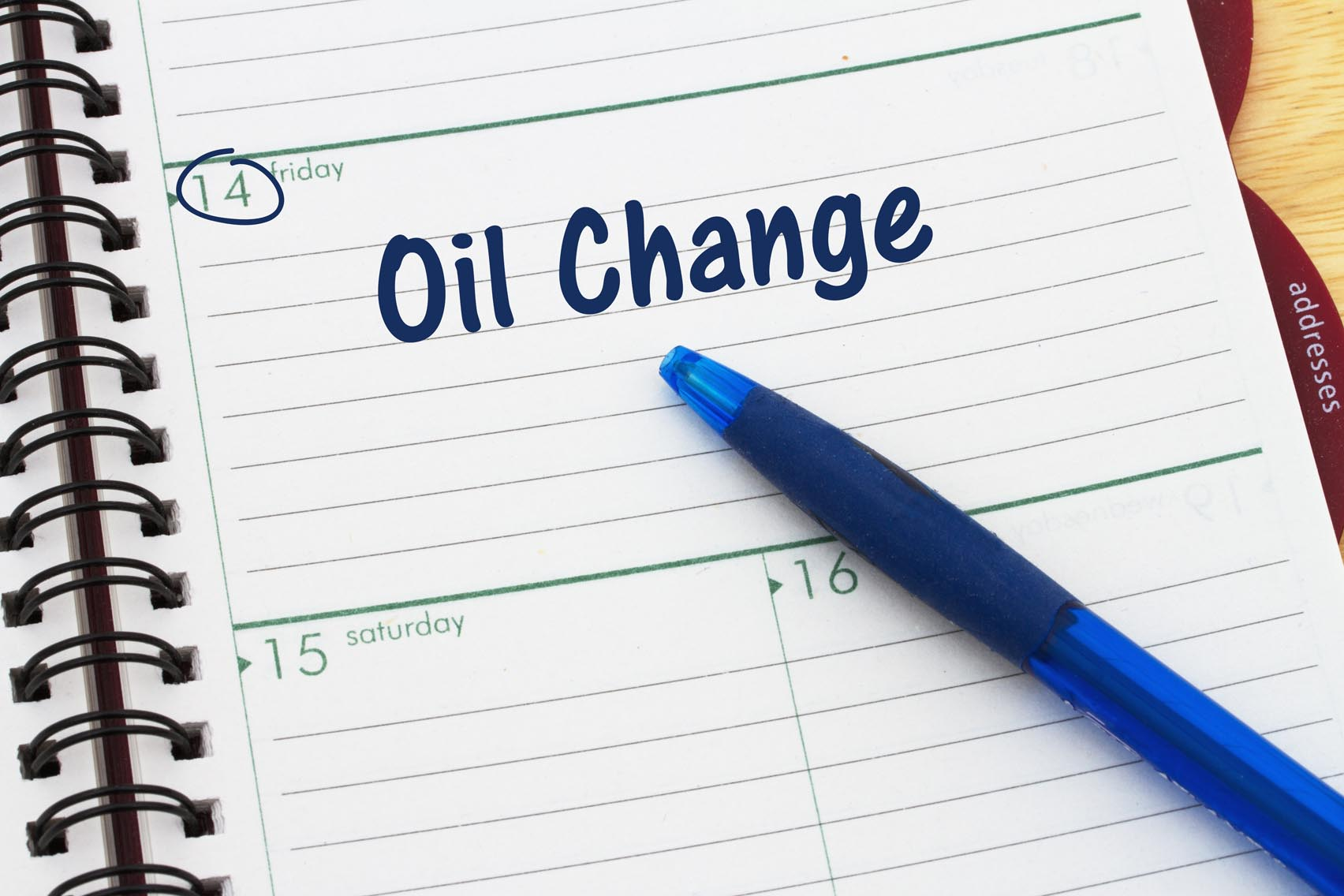 When should I get my oil changed?