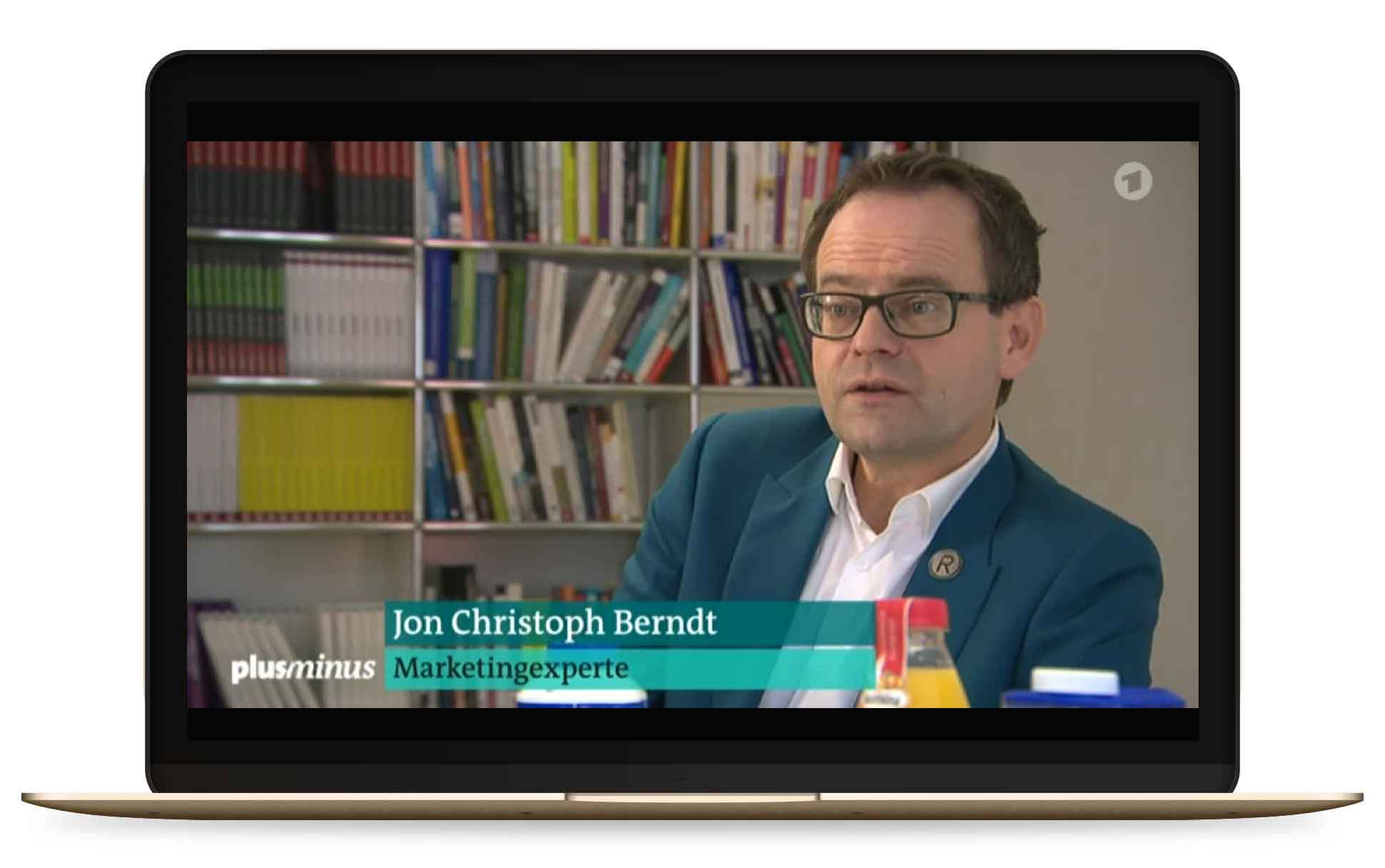 Jon Christoph Berndt in the Media