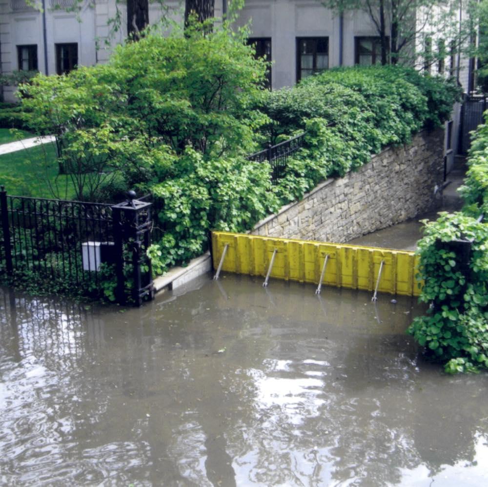 Flood mitigation device