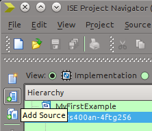 Figure 3: Add Source button