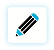Icon of a pencil