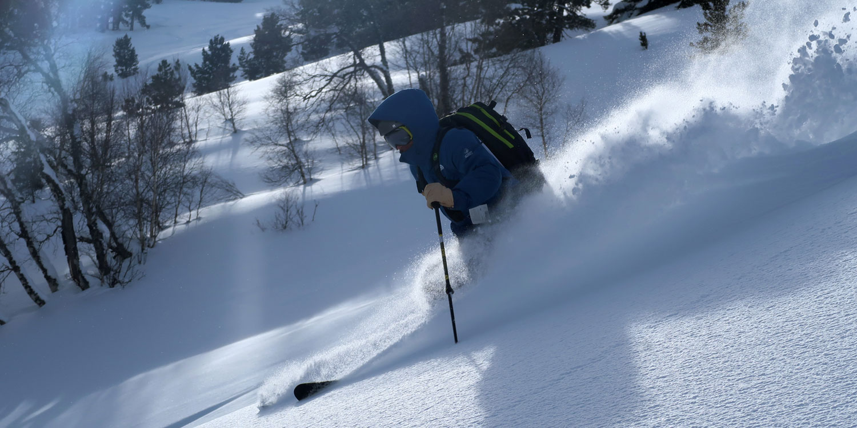 Skiing off-piste