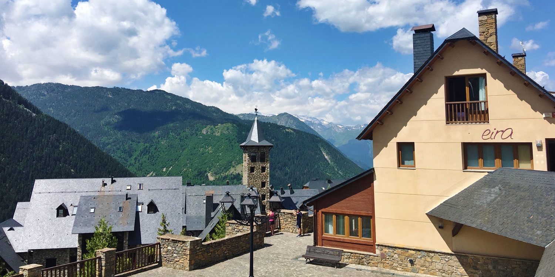 Eira Ski Lodge in summer