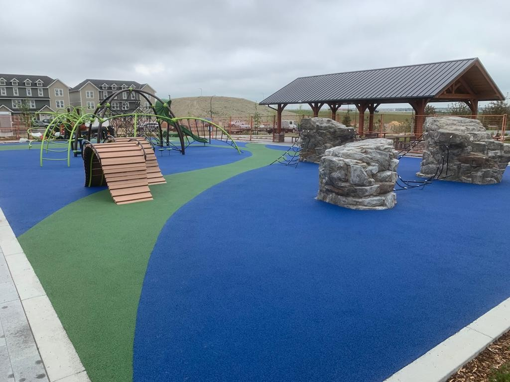 Softline FirstBase Playground Surface System