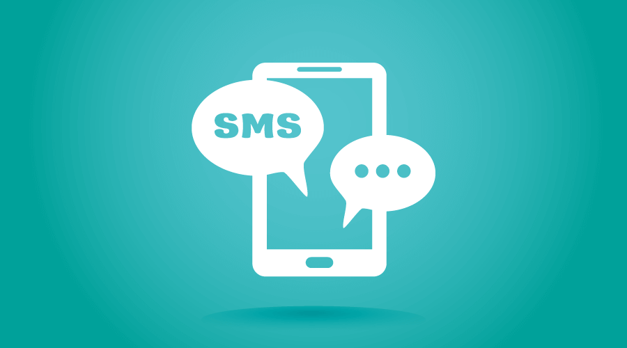 SMS Texting Graphic