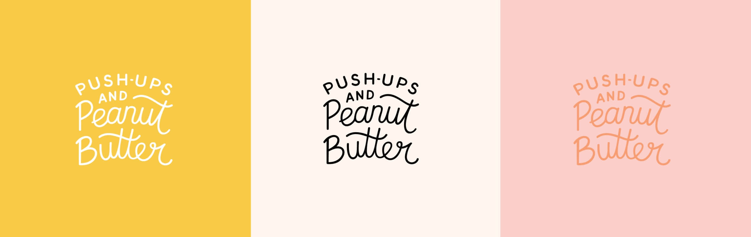 Push-ups and Peanut Butter logo