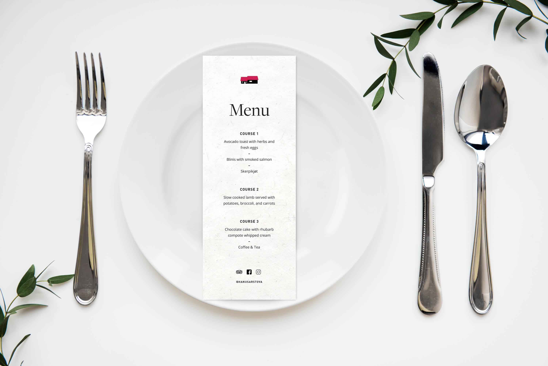 Hanusarstova menu