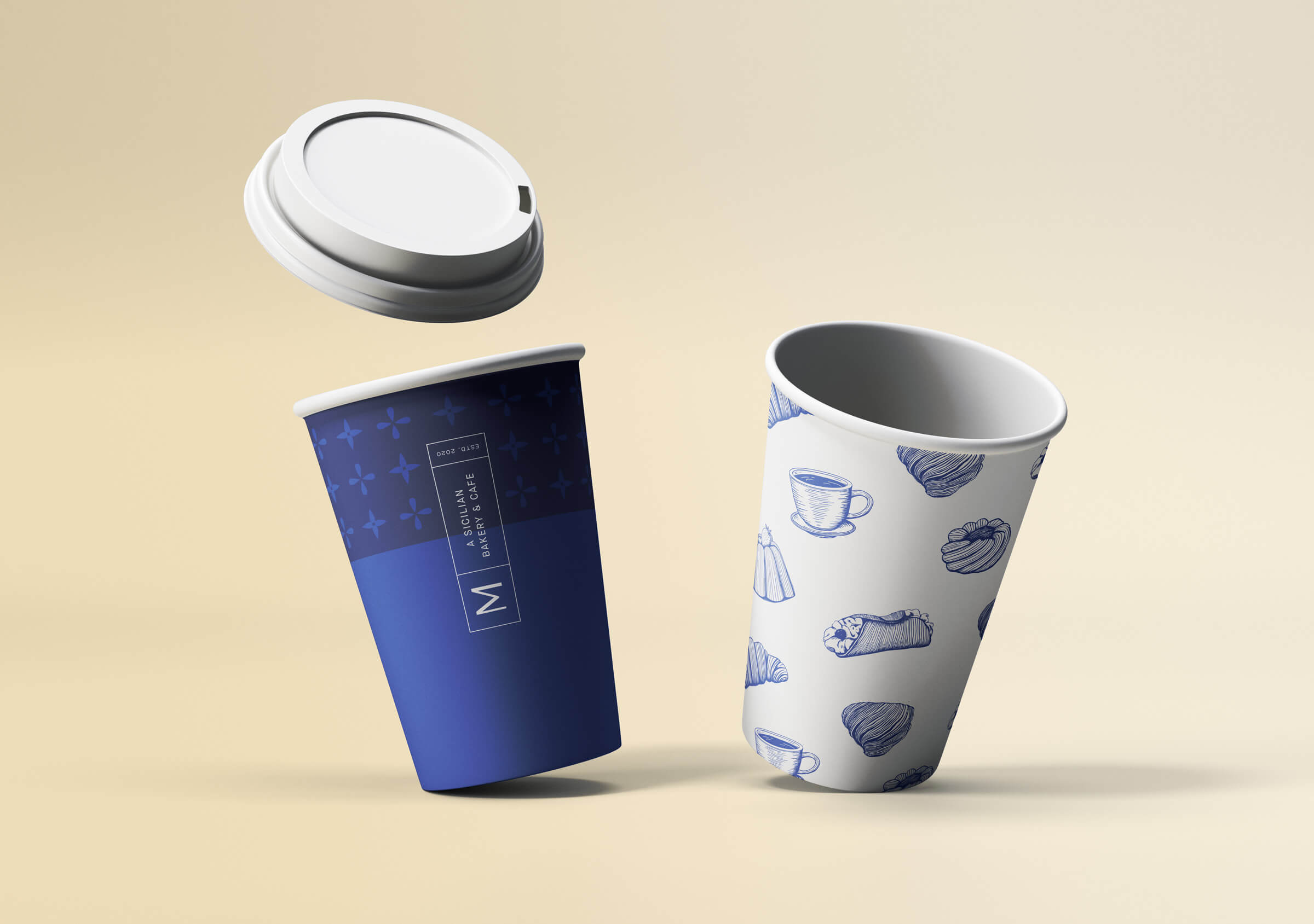 Messina Paper Cups