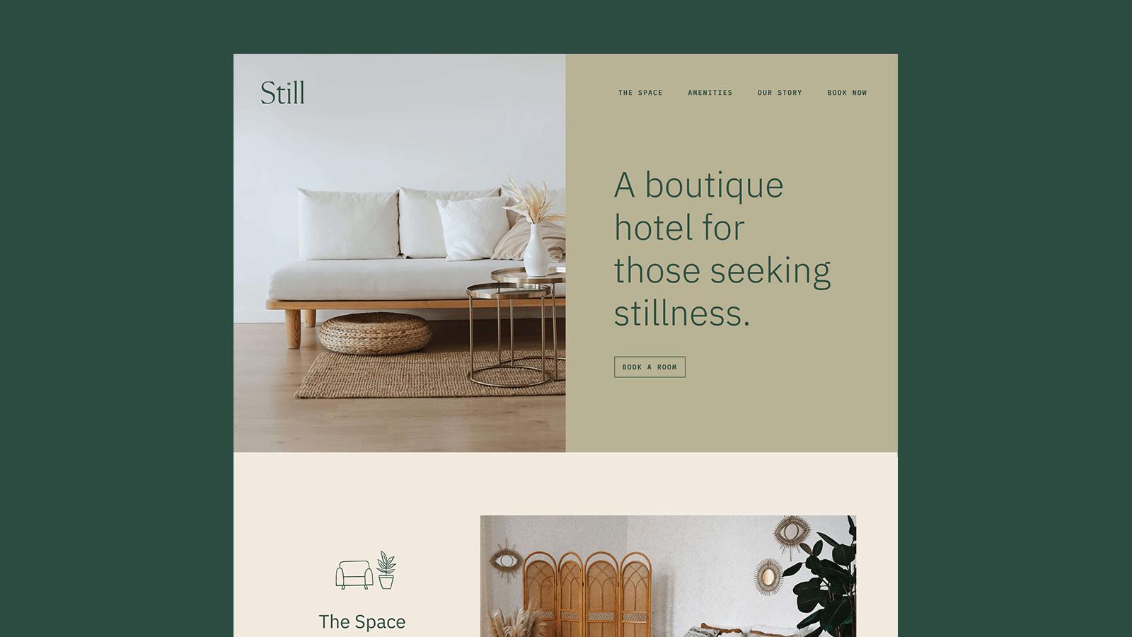 Still Hotel Website
