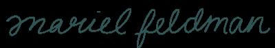 Mariel Feldman Design Studio logo