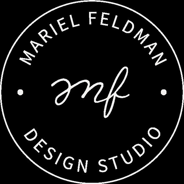 Mariel Feldman Design Studio logomark