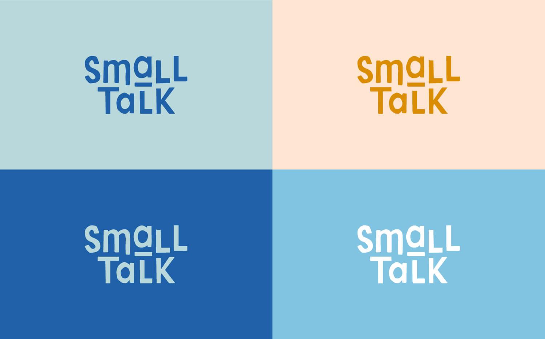 Small Talk primary logo