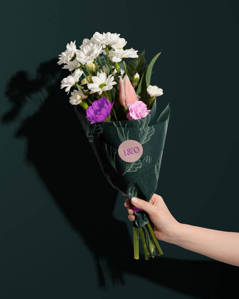 Iris & Oak flower shop design