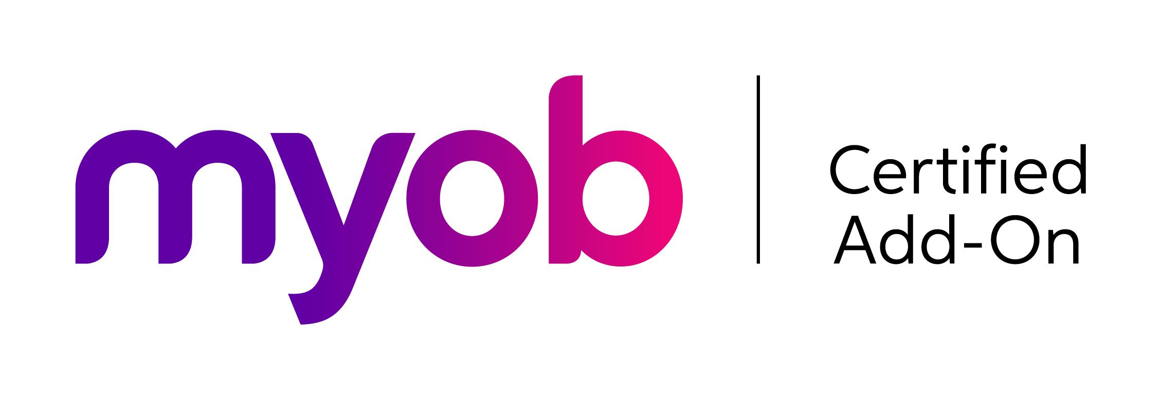 MYOB Certified add-on