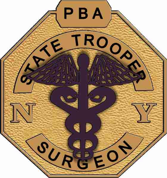 State Tropper Surgeon Logo