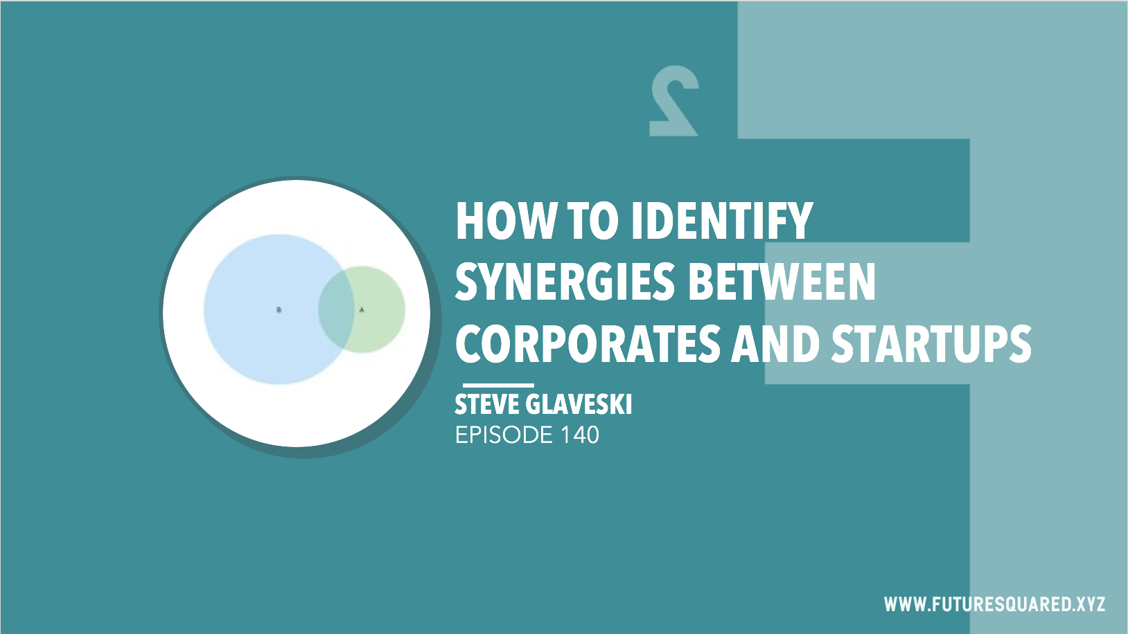Future Squared Episode #140: How to Identify Synergies between Corporates and Startups