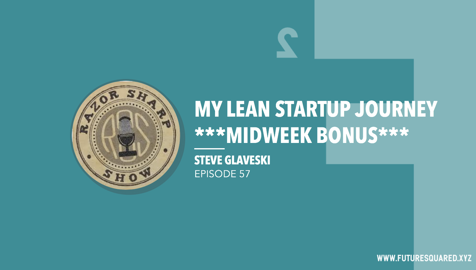 Future Squared Episode #57: My Lean Startup Journey *midweek bonus*