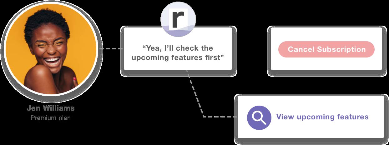 Screenshot of Raaft's custom link options
