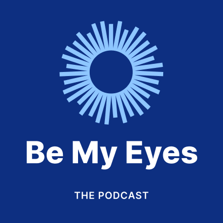 The Be My Eyes Podcast logo