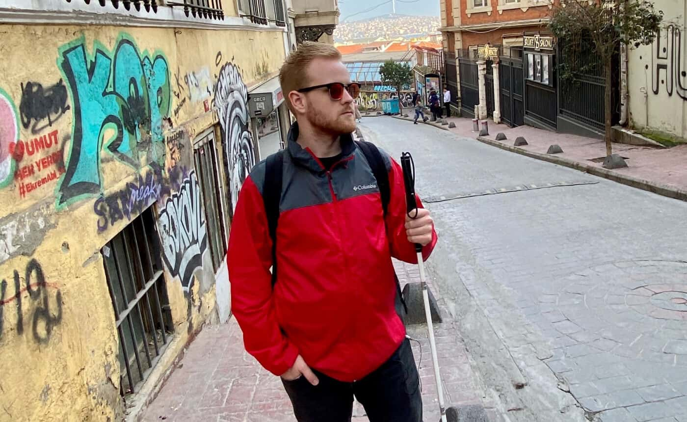 James Rath walks the streets of Istanbul