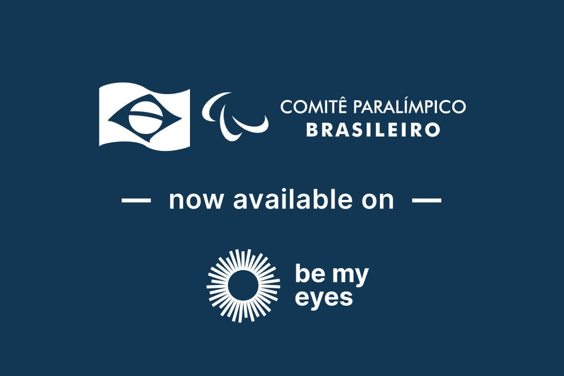Fitness experts from the Comitê Paralímpico Brasileiro are now available through the Be My Eyes App!