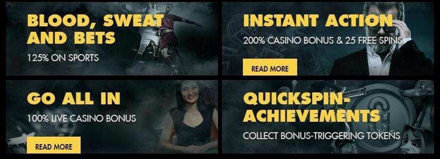 Bethard Casino tarjoaa monia etuja