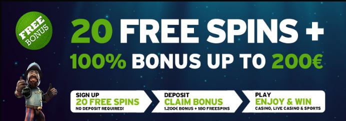 Betive Casino tarjoaa huikeat talletusbonukset