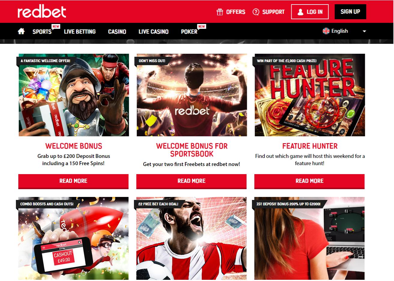 Redbet Casino tarjoaa pelaajalle monipuolisen pelivalikoiman