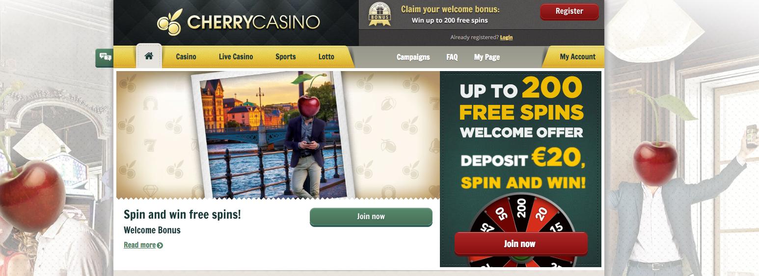 Cherry Casino tarjoaa erittäin kilpailukykyisiä kampanjatarjouksia, jotka ovat tsekkaamisen arvoisia.