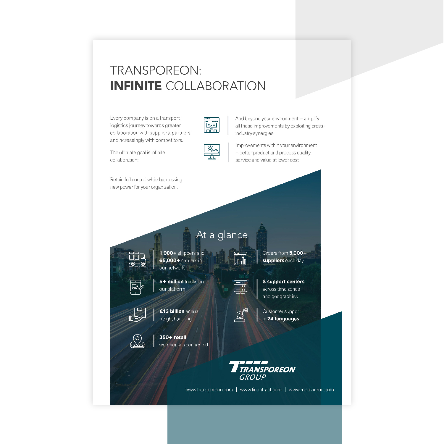 Sales and marketing collateral