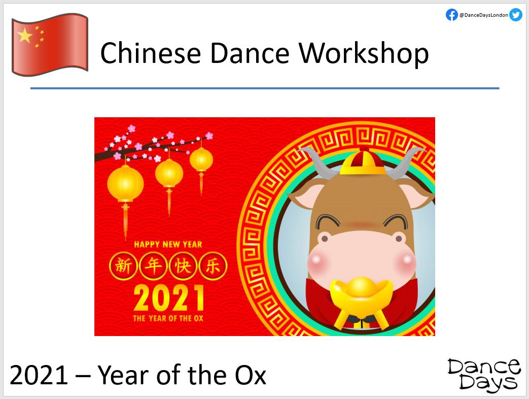 Chinese Dance Workshops for Schools Presentation