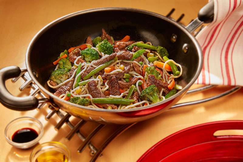 Stir Fried Beef Or Chicken With Vegetables