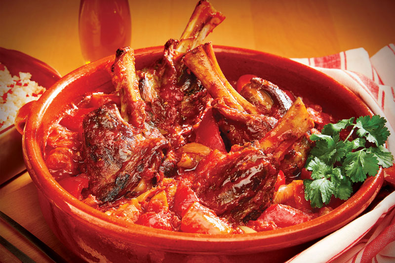 Middle Eastern Lamb Shanks