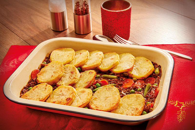 Mince And Potato Hotpot
